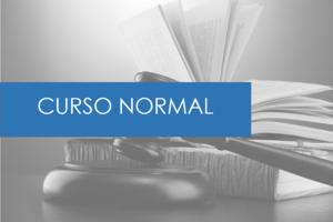 CURSO NORMAL: DURACIÓN 12 MESES