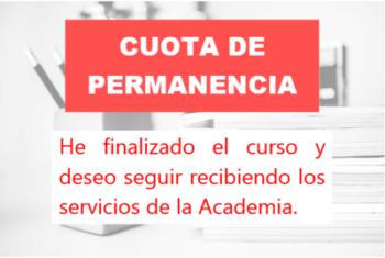 CUOTA DE PERMANENCIA