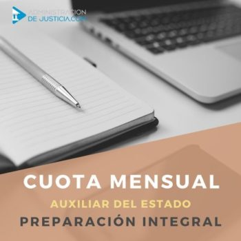 CUOTA MENSUAL 12 MESES AUXILIAR ESTADO