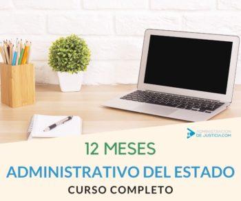 CURSO ADMINISTRATIVO DEL ESTADO 12 MESES