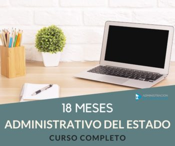 CURSO ADMINISTRATIVO DEL ESTADO 18 MESES