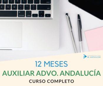 CURSO AUXILIAR ADMINISTRATIVO JUNTA ANDALUCÍA - 12MESES