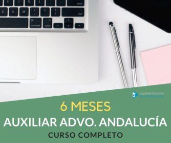 CURSO AUXILIAR ADMINISTRATIVO JUNTA ANDALUCÍA - 6 MESES