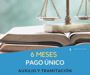 CURSO AUXILIO Y TRAMITACIÓN 6 MESES COMPLETO