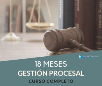 CURSO GESTIÓN PROCESAL - 18 MESES
