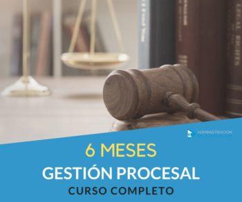 CURSO GESTIÓN PROCESAL - 6 MESES