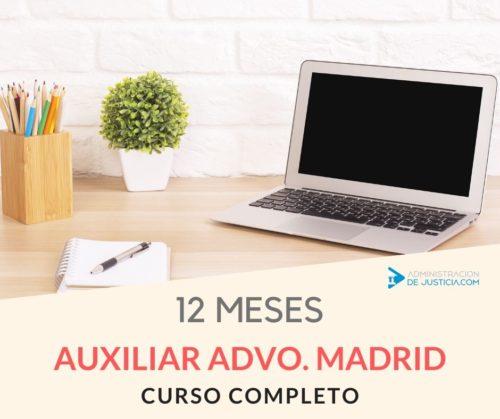 CURSO MADRID 12 MESES