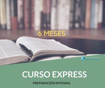 CURSO EXPRESS: DURACIÓN 6 MESES