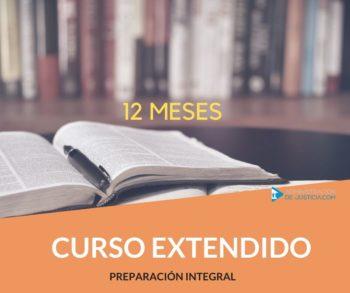 CURSO EXTENDIDO: DURACIÓN 12 MESES