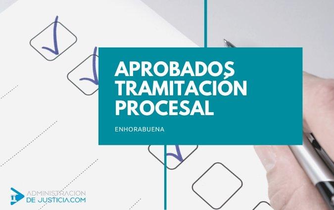 APROBADOS TRAMITACIÓN PROCESAL 2019