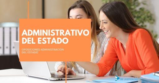 OPOSICIONES ADMINISTRATIVO DEL ESTADO