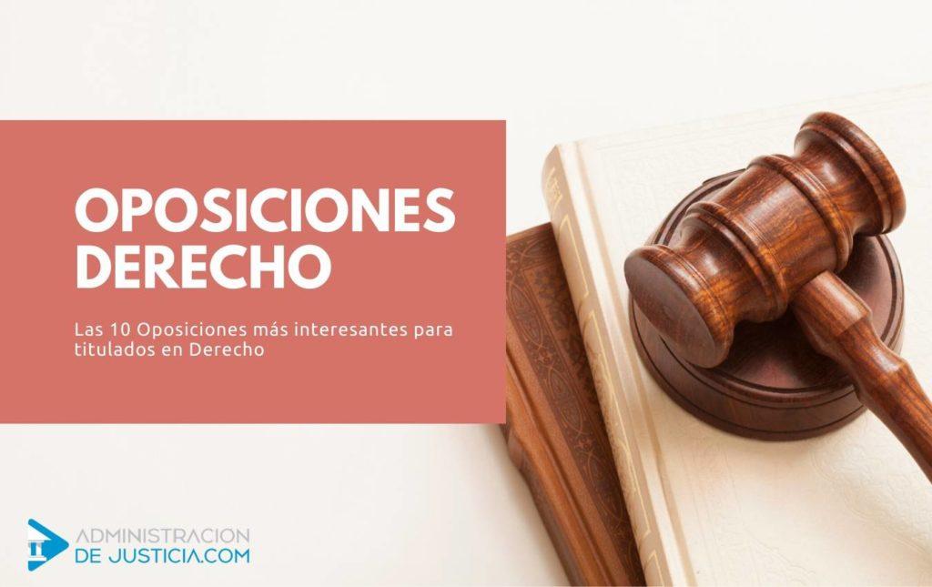Oposiciones Derecho