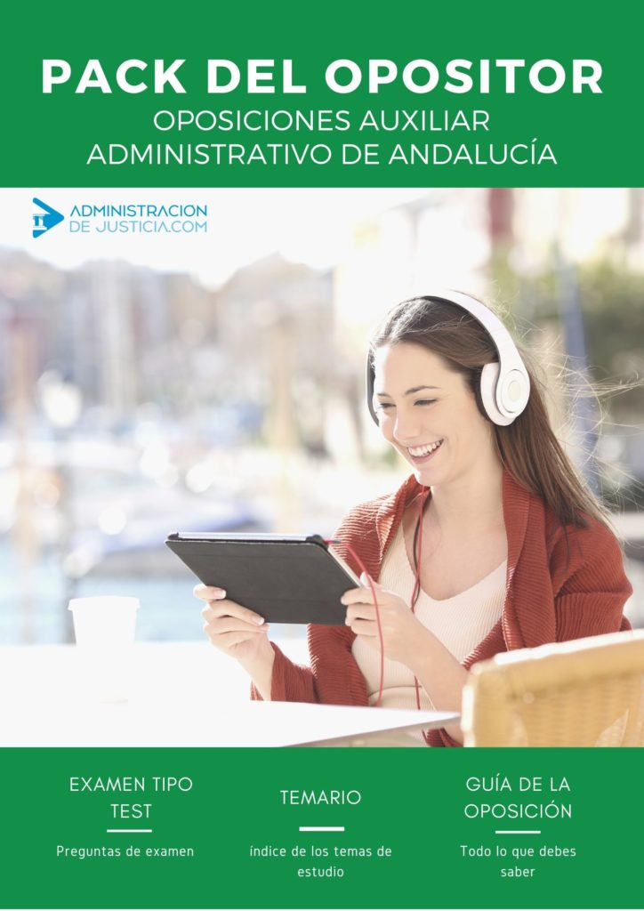 PACK OPOSITOR AUXILIAR ADMINISTRATIVO ANDALUCÍA