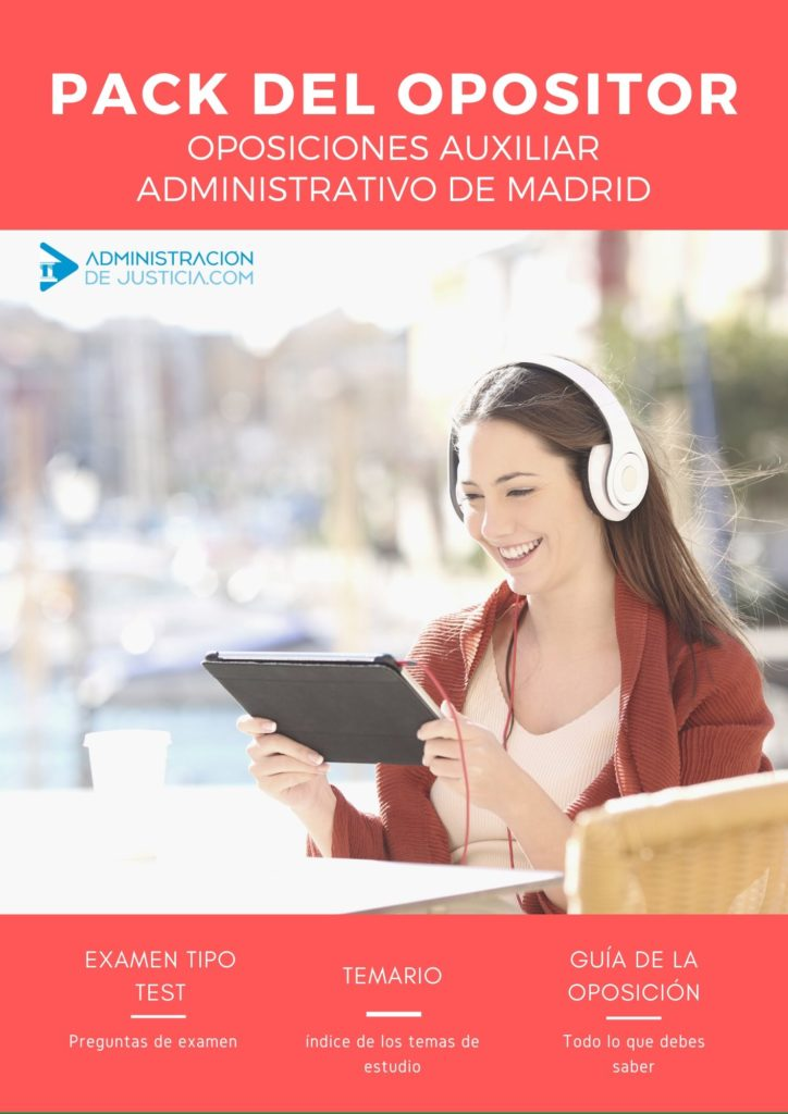 PACK OPOSITOR AUXILIAR ADMINISTRATIVO CAM