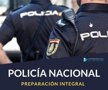 POLICÍA NACIONAL - ESCALA BÁSICA
