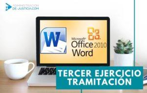 NUEVA FECHA EXAMEN WORD TRAMITACIÓN PROCESAL 2020