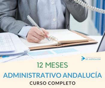 CURSO 12 MESES ADMINISTRATIVO JUNTA ANDALUCÍA