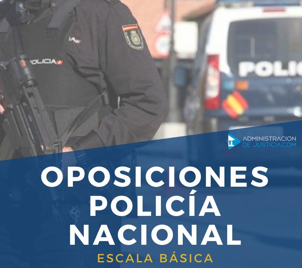 CURSO OPOSICIONES POLICÍA NACIONAL