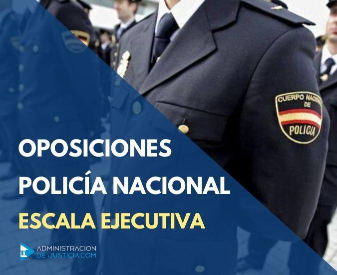 Temario oposición policía nacional