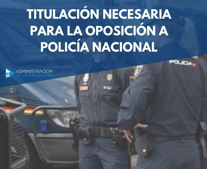 Temario oposicion policía