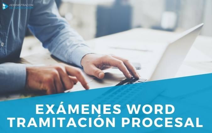 Examen word tramitacion procesal