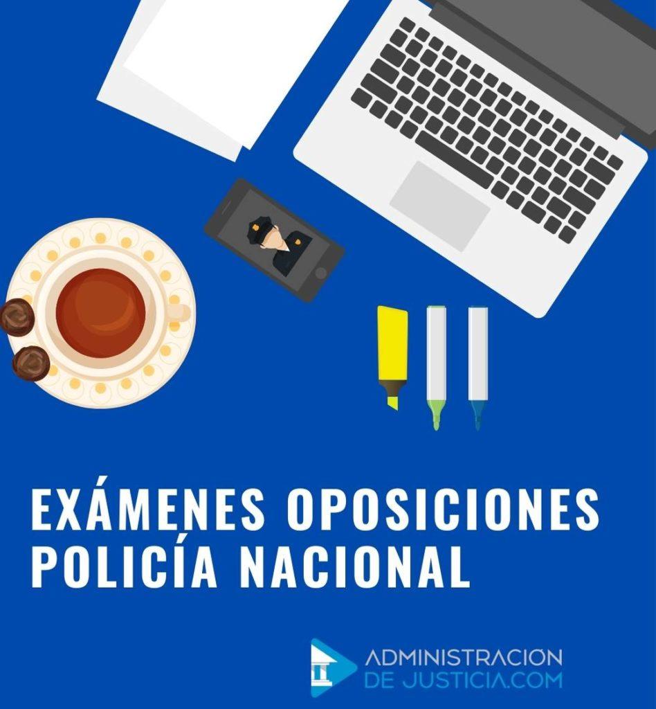 Examenes Policia nacional