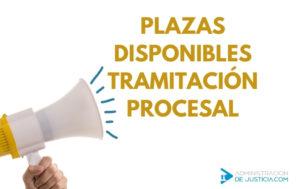 PLAZAS TRAMITACIÓN CONVOCATORIA 2019