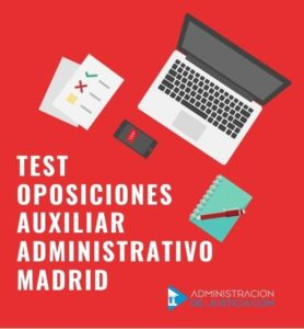 Test Auxilar Administrativo Madrid
