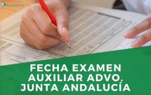EXAMEN JUNTA ANDALUCIA AUXILIAR ADMINISTRATIVO