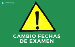 NUEVAS FECHAS DE EXAMEN AUXILIAR Y ADMINISTRATIVO JUNTA DE ANDALUCÍA 2020