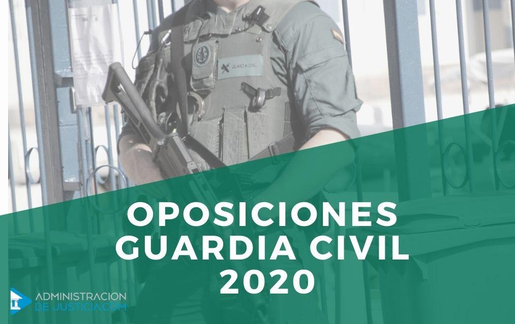 Oposiciones Guardia Civil 2020