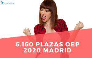 PLAZAS OEP 2020 COMUNIDAD DE MADRID