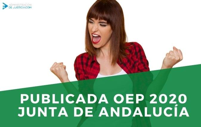 PUBLICADA OEP 2020 JUNTA DE ANDALUCÍA