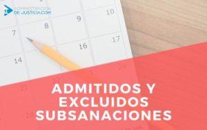 Abierto plazo subsanación Auxiliar Administrativo Madrid