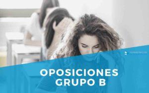 OPOSICIONES GRUPO B