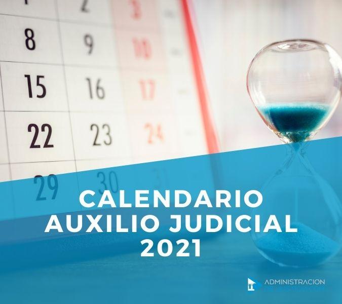 CALENDARIO AUXILIO JUDICIAL
