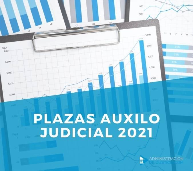 PLAZAS AUXILIO JUDICIAL
