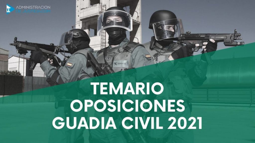 TEMARIO GUARDIA CIVIL .