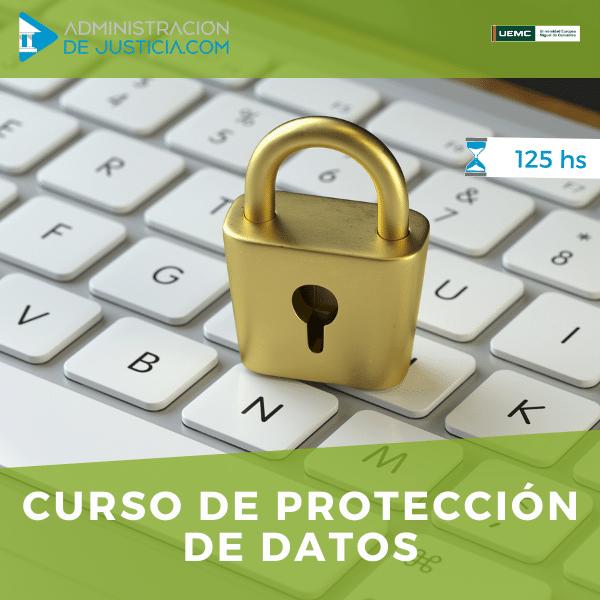 CURSO DE PROTECCION DE DATOS